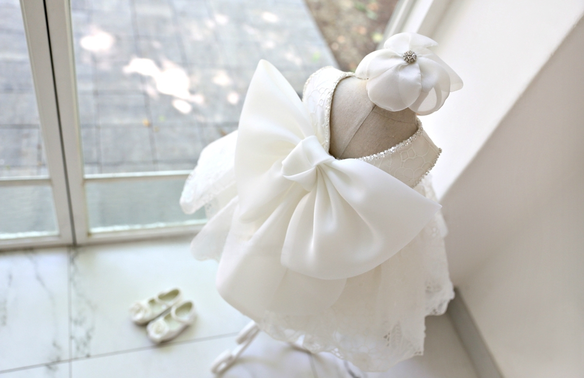 10m 5y Flower Girl Dress Flower Girl Dresses White Lace Girl Dress