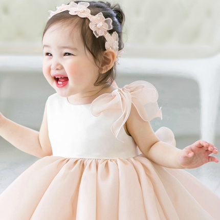 Flower Girl Dress Pink Flower Girl Dress Light Pink Flower Girl